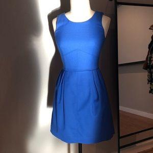 J. Crew cobalt blue dress